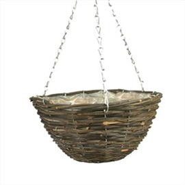 Rattan+Round+Hanging+Basket+with+chain