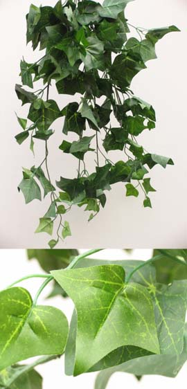 3x+Artificial+Silk+Large+Ivy+Trailing+Plants+%28Rich+Dark+Green%29+70+CM+Length+%26+with+170%2B+Large+Ivy+Leaves